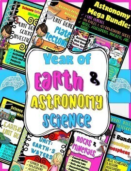Back to School Earth and Space, Physical, and Life Science COMPLETE Notebook
