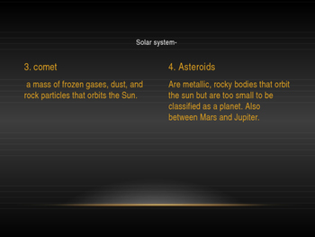 Earth and Space Powerpoint