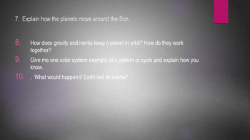 Earth and Space Practice quiz and Post quiz