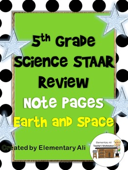 Earth and Space Review Activity Pages (STAAR)
