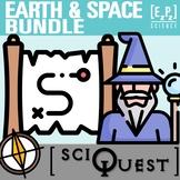 Earth and Space SciQuest Science Scavenger Hunt Bundle- Pr