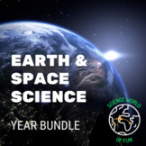 Earth & Space Science Curriculum Bundle- INB Notes Slides