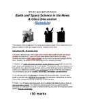 Earth and Space Science - Debate and Discussion Assignment