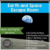 Earth and Space Science Escape Room Paper and Digital | Di