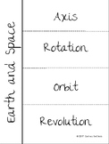 Earth and Space Science INB Vocabulary
