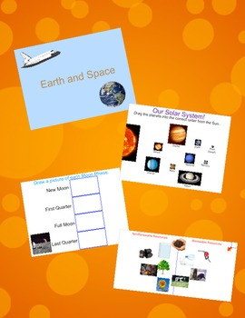 Earth and Space Science Interactive Whiteboard Review