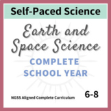 Earth and Space Science NGSS Middle School - Complete Curriculum