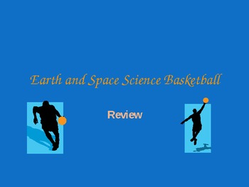 Earth and Space Science Review Basketball Game