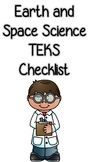 Earth and Space Science TEKS Checklist