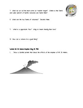 Earth and Space Sciences:  Volcanoes