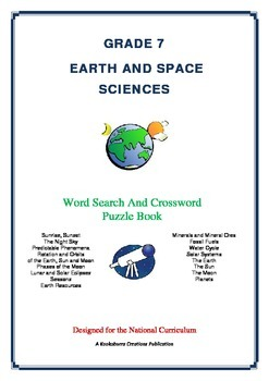 Earth and Space Sciences - 68 Pgs - Wordsearch and Crossword Puzzle Book (AC Ed)