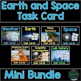 Earth and Space Task Cards Bundle - Distance Learning Compatible
