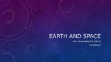 Earth and Space Vocabulary PowerPoint Unit 7 4th Grade Ten