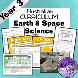Science- Earth and Space Year 3 Unit - Night, Day, Shadows and Seasons