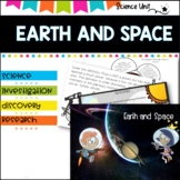 Earth and Space worksheets and activities