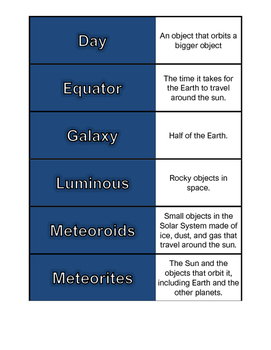 Earth and Space_Dominoes