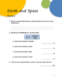 Earth and Space_Review