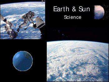 Earth and Sun Power Point