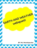 Earth and Weather Webquest