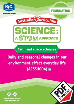 Earth and space sciences including STEM project – Foundation