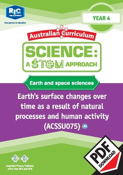 Earth and space sciences including STEM project - Year 4