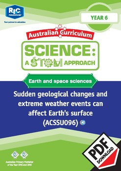 Earth and space sciences including STEM project - Year 6