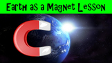 Earth as a Magnet No Prep Lesson with Power Point, Workshe