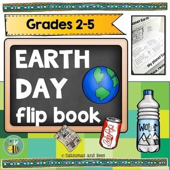 Earth day activities {flip book}