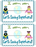 Earth day certificates & stickers