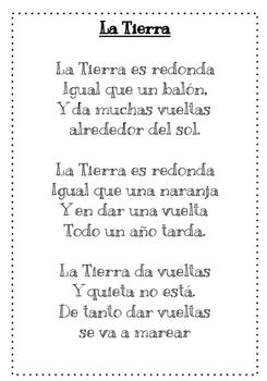 Earth day poem in Spanish