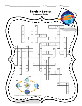 Earth in Space - A Crossword Puzzle