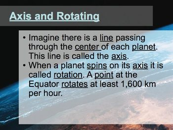 Earth in Space Guided Notes
