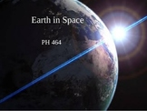 Earth in Space PowerPoint Presentation