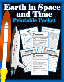 Earth in Space and Time - Printables Pack (Activities, Wri