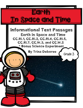 Earth in Space and Time: Science Reading Comprehension Passages