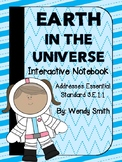 Earth in the Universe Interactive Notebook-3.E.1.1