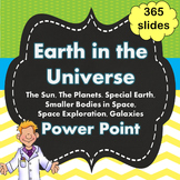 Earth in the Universe / Solar System Power Point PPT