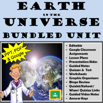 Earth in the Universe Unit Bundle
