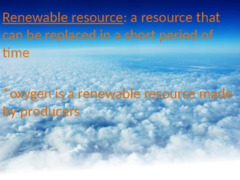 Power Point ozone layer + renewable resources- NGSS Earth and Human Activity