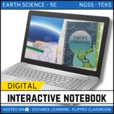 Earth's Atmosphere DIGITAL NOTEBOOK - Google Classroom / D