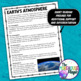Earth's Atmosphere Doodle Notes for Science with PowerPoint & Quiz