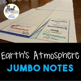 Earth's Atmosphere JUMBO Notes