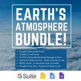 Earth's Atmosphere - Slides, Activities, Quiz, Cornell Notes | REMOTE LEARNING