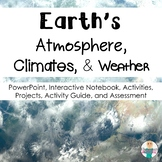 Earth's Atmosphere Layers + Weather and Climate Bundle