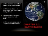 Earth's Basics Science Notes
