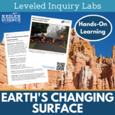 Earth's Changing Surface Inquiry Labs