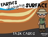 Earth's Changing Surface Task Cards (Constructive and Destructive Forces)