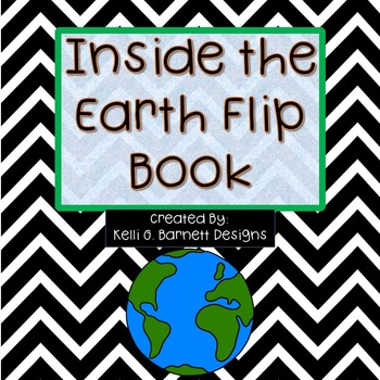Layers of the Earth Foldable- Great for Interactive Science Notebook