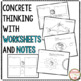 Earth Cycles Interactive Notebook & Worksheets