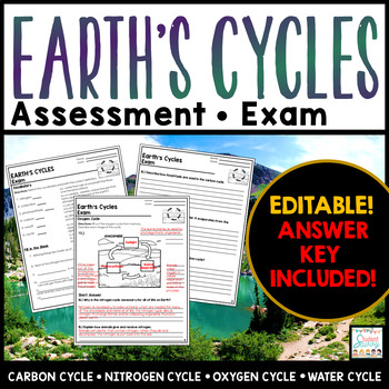 Earth's Cycles Exam